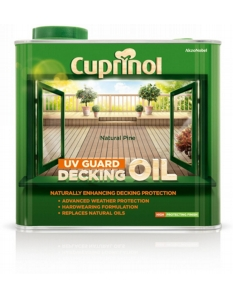Cuprinol UV Guard Decking Oil 2.5L Natural Pine