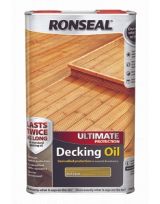 Ronseal Ultimate Protection Decking Oil 5L Natural