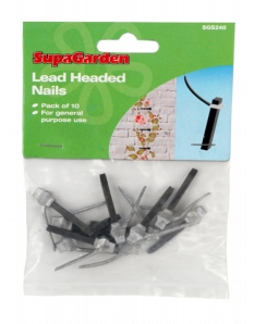 Ambassador Lead Headed Nails Pack 10
