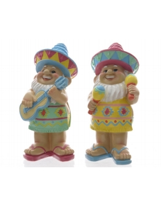 Kaemingk Poly Standing Gnome 28.5cm 2 Designs Available