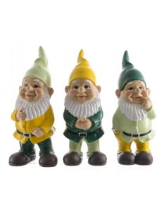 Kaemingk Poly Gnome Standing 22cm 3 Designs Available