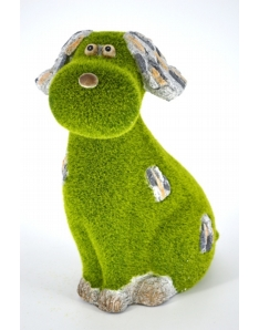 Kent Collection Flocked Dog