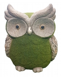Kent Collection Flocked Owl M