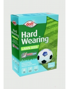 Doff Hardwearing Lawn Seed With Procoat 500g