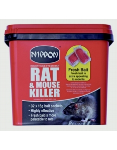 Nippon Rodenticide Fresh Bait 150g