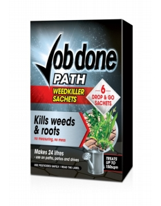 Job Done Path Weedkiller 3 Sachets