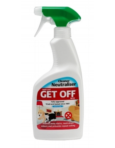 Get Off Indoor Wash Off Cleaner Neutraliser 500ml Spray