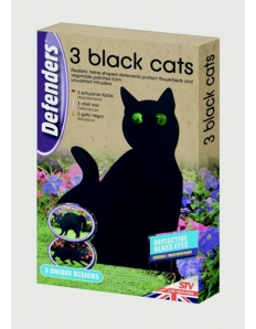 Defenders Three Black Cats
