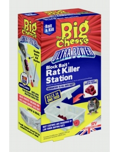 The Big Cheese Ultra Power Block Bait Rodent Killer Kit