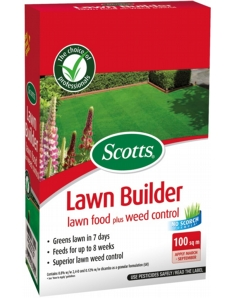 Scotts LawnBuilder Feed & Weed 100m