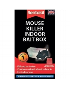 Rentokil Mouse Killer Indoor Bait Box Single