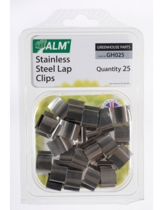 ALM Sprung Glazing Lap Clips Stainless Steel