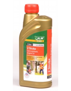 ALM Semi Synthetic 2 Stroke Oil 1L