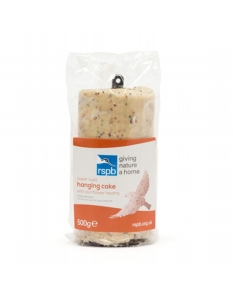 Rspb Suet Hanging Cake With Sunflower Hearts 550g