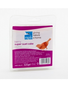 Rspb Super Suet Cake With Berries 320g