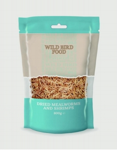 Basics Mealworms & Shrimp 80g