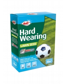 Doff Hardwearing Lawn Seed With Procoat 1kg