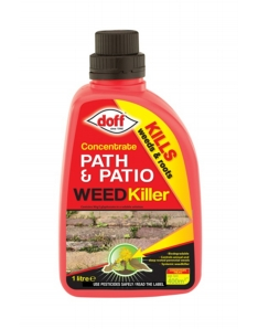 Doff Concentrated Path & Patio Weedkiller 1L