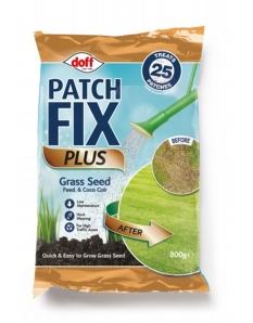 Doff Patch Fix Plus Grass Seed, Feed & Coco Coir 800g