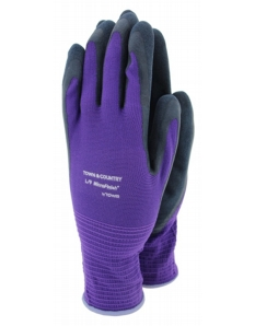 Town & Country Mastergrip Purple Glove Small