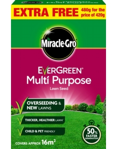 Miracle-Gro Multi Purpose Grass Seed Promo 480gm Value Pack