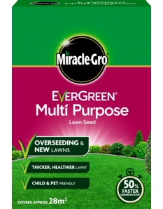 Miracle-Gro Multi Purpose Grass Seed 840gm
