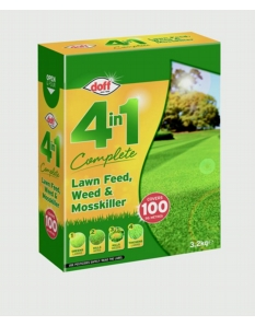 Doff 4 In 1 Complete Lawn Feed, Weed & Mosskiller 3.5kg