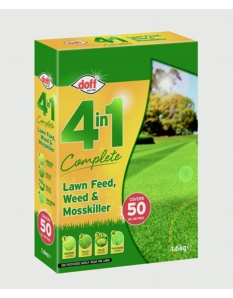 Doff 4 In 1 Complete Lawn Feed, Weed & Mosskiller 1.75kg