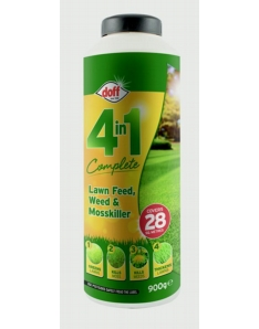 Doff 4 In 1 Complete Lawn Feed, Weed & Mosskiller 1kg