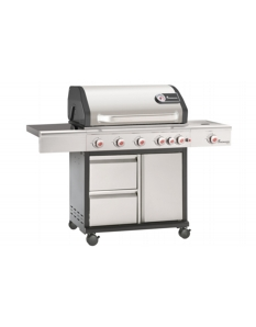Landmann Triton 6.1 PTS Gas Barbecue Stainless Steel