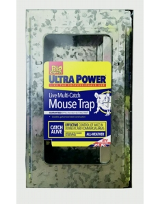 The Big Cheese Ultra Power Live Multi Catch Mouse Trap