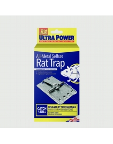 Ultra Power All Metal Self Set Rat Trap