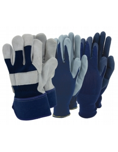 Town & Country Mens Triple Pack Rigger Glove