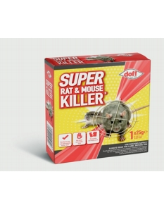 Doff Super Rat & Mouse Killer Refill 1 x 25g