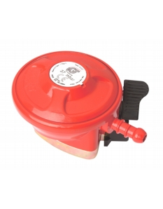 Lifestyle Propane 27mm Clip on Regulator Red