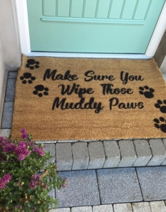 Country Home Wipe Your Paws Extra Large Doormat