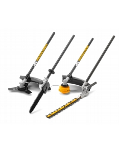McCulloch B33 PS + 4 in 1 Split Shaft Brushcutter Kit