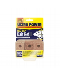 Ultra Power Neo Zap Bait Refill 6 Blocks