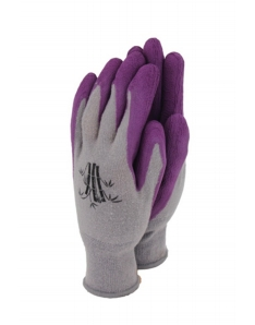 Town & Country Bamboo Gloves Grape Medium