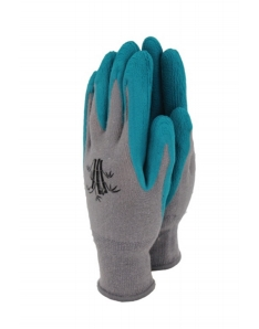 Town & Country Bamboo Gloves Teal Medium